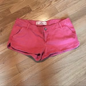 Hollister Faded Red Shorts.